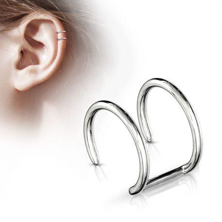 Faux Piercing Oreille Cartilage acier chirurgical - Bijou Faux Piercing