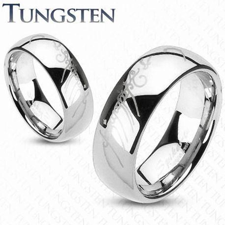 """Bague Tungstène """"Lord of the ring"""" Argentée - Bague Seigneur des anneaux en tungstene"""