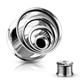 Piercing tunnel multiples anneaux