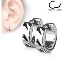 Paire Boucles d'oreille anneaux