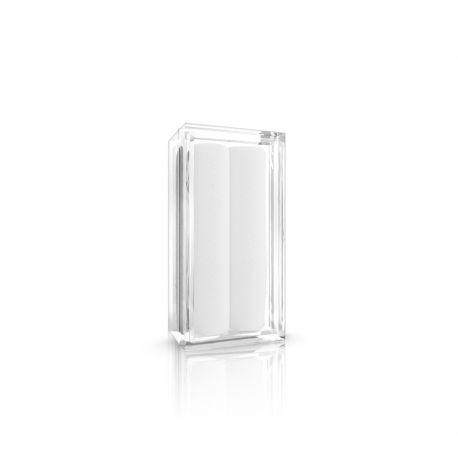Boite pour piercing en acrylique transparent