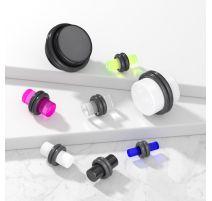 Piercing Plug Oreille en Acrylique UV