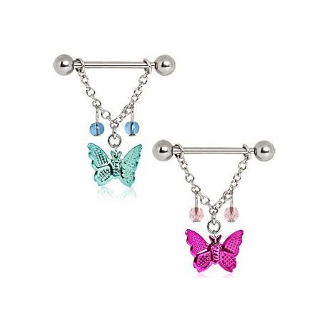 Piercing Téton Papillon