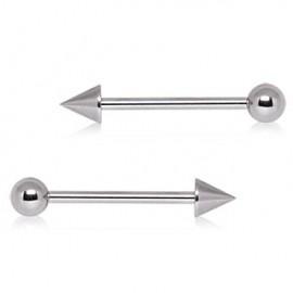 Piercing Barbell Boule et Spike