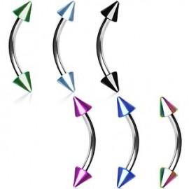 Piercing arcade cone titane