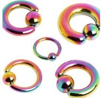 Piercing anneau captif essence