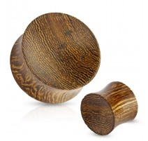 Piercing plug bois d'amourette