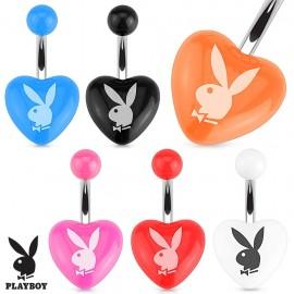Piercing nombril coeur Playboy