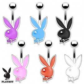 Piercing nombril lapin Playboy petite taille