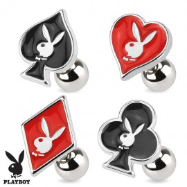 Piercing cartilage Playboy cartes