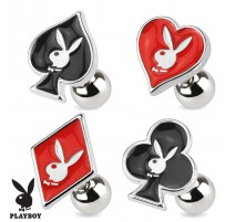 Piercing cartilage Playboy cartes