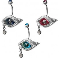 Piercing nombril Crystal Evolution Swarovski Oeil
