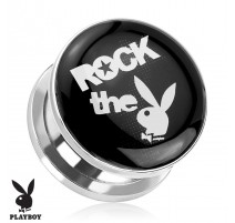 "Piercing plug Playboy ""Rock the Bunny"""