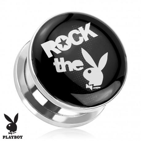 "Piercing plug Playboy ""Rock the Bunny"""