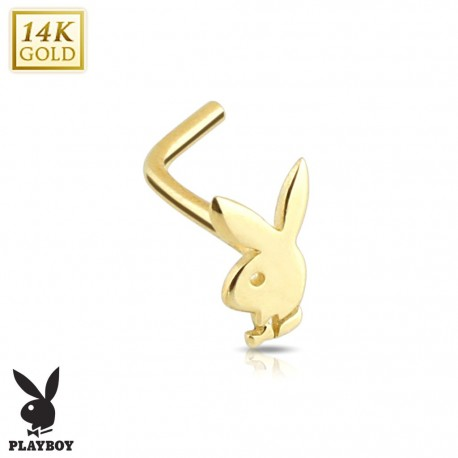 Piercing nez Playboy Or 14K
