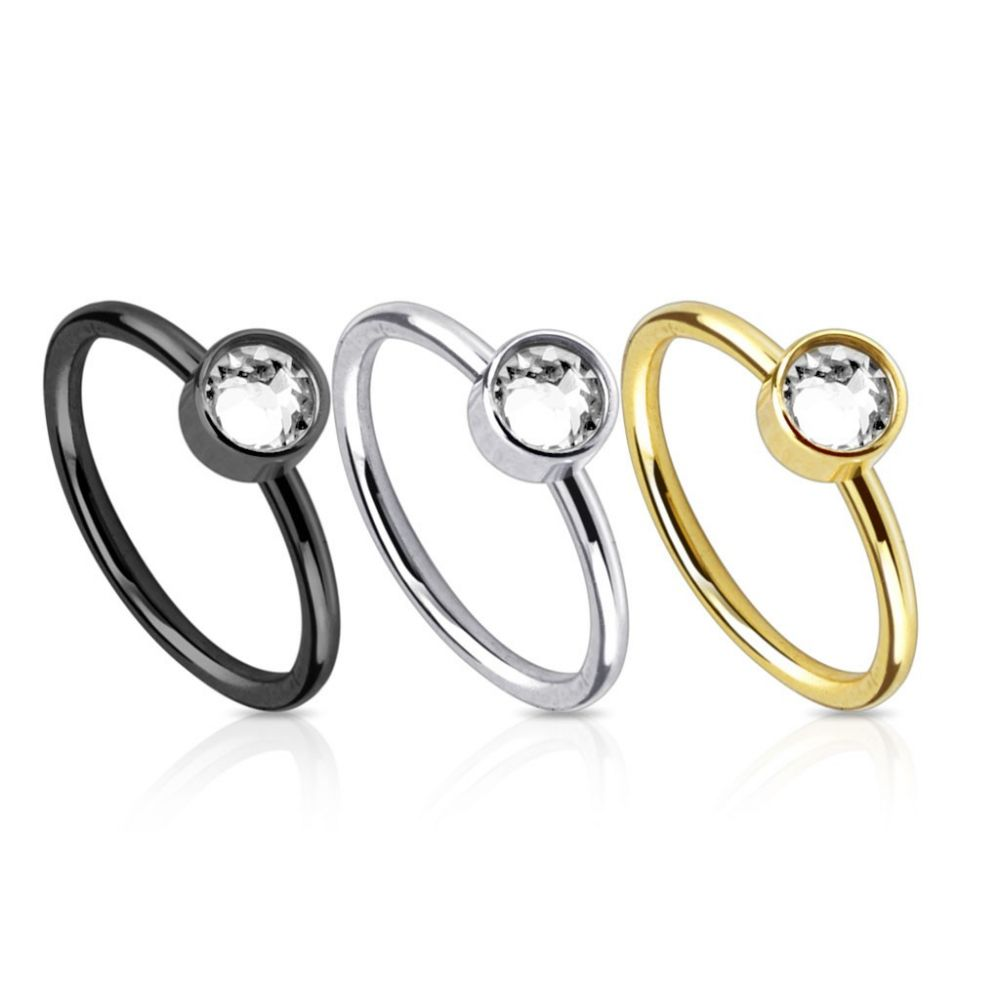 piercing nez anneau gemme. Black Bedroom Furniture Sets. Home Design Ideas