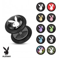 Faux Piercing plug lapin Playboy