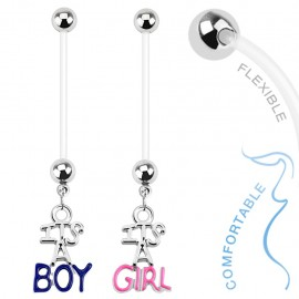 Piercing nombril de grossesse Boy & Girl