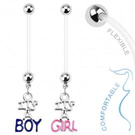 Piercing nombril de grossesse Boy & Girl