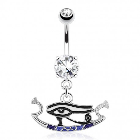 Piercing nombril oeil d'horus