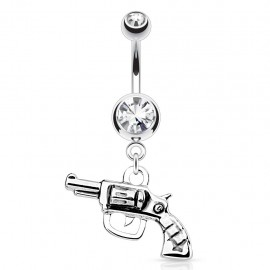 Piercing nombril revolver