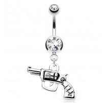 Piercing nombril revolver