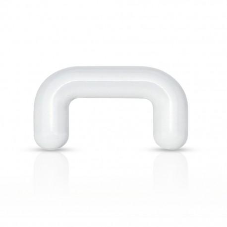 Piercing septum retainer acrylique