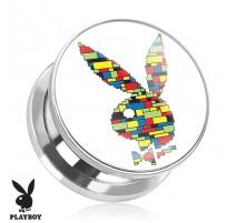 Piercing plug Playboy blocs