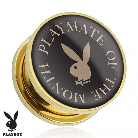 Piercing plug Playboy playmate of the month