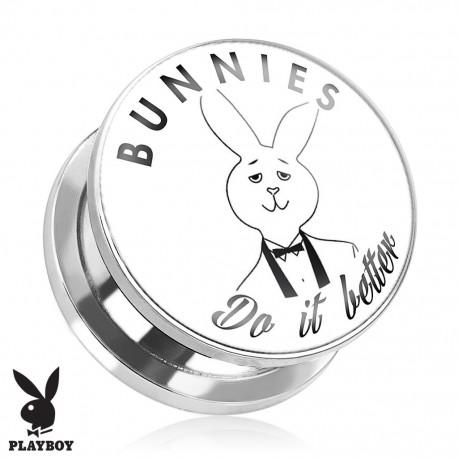 Piercing plug Playboy Bunnies do it better