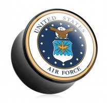 Piercing plug acrylique US Air Force