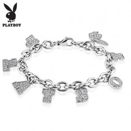 Bracelet Playboy charms strass