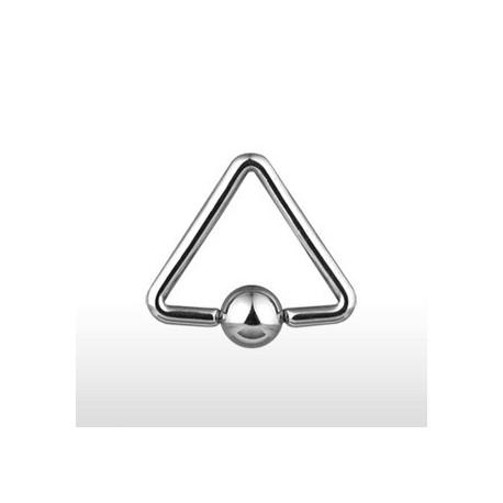 Piercing anneau Captif Triangle