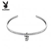 Bracelet Playboy perles noires