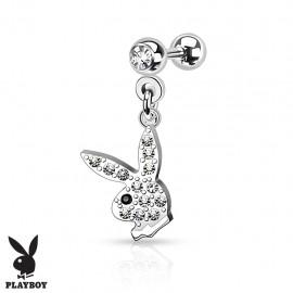 Piercing cartilage pendentif Playboy