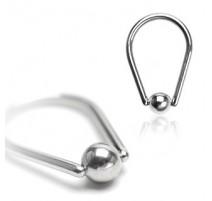 Piercing anneau captif larme