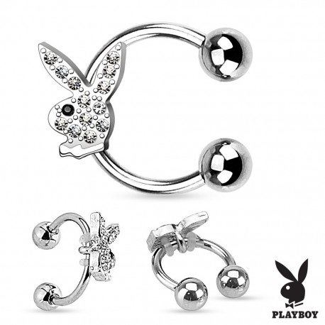 Piercing fer à cheval Playboy