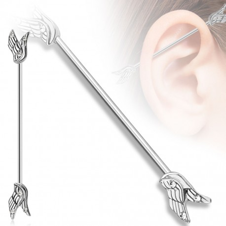 Piercing industriel angel wings