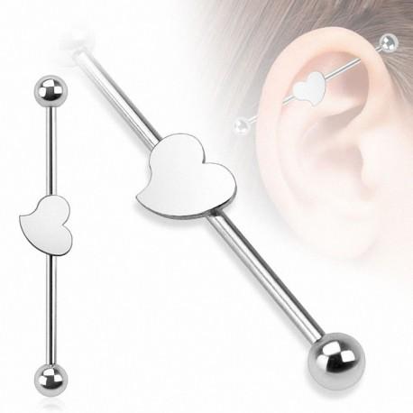 Piercing industriel coeur