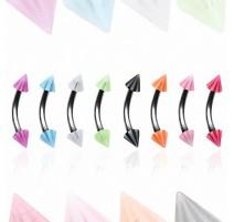 Piercing arcade Pointes acrylique Candy