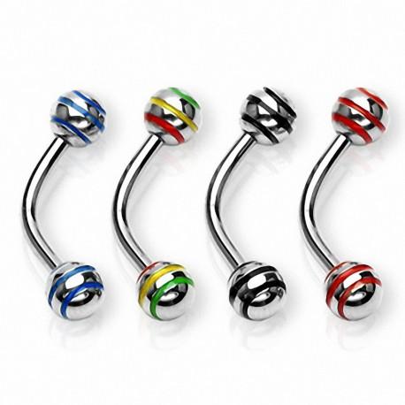 Piercing arcade Striés (Boules)