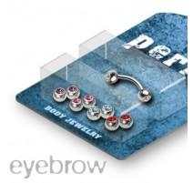 Pack Piercing Arcade Acier chirurgical Gemmes - Bijou Piercing pour Arcade