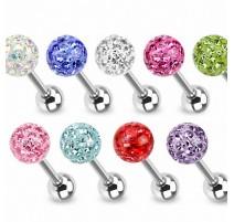 Piercing langue Crystal Férido Swarovski Gloss