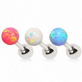 Piercing cartilage pierre opale