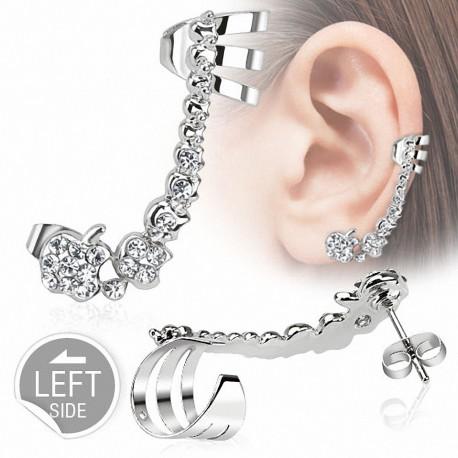 Boucle d'oreille gemmes