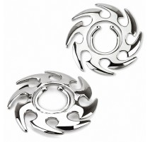Faux piercing téton tourbillon