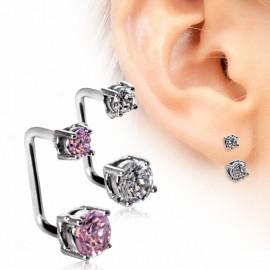 Piercing cartilage oreille loop