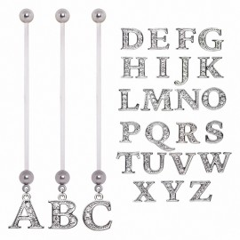Piercing nombril de grossesse alphabet