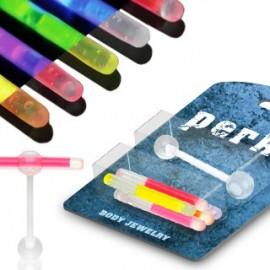 Pack Piercing Langue Flexible Phosphorescents