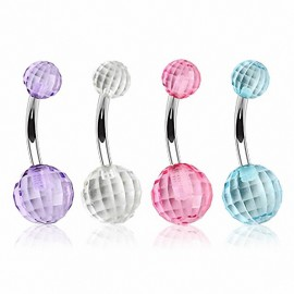 Piercing nombril Disco Ball